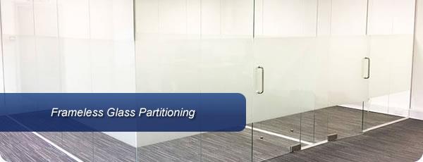 Frameless Glass Partitioning