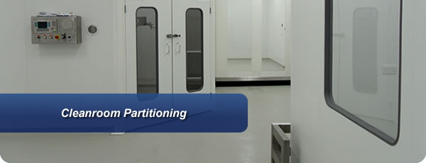 Cleanroom Partitioning