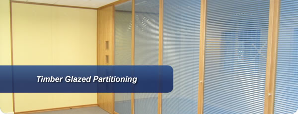 Timber Glazed Partitioning