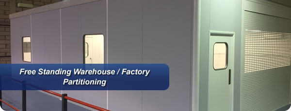 Free Standing Warehouse / Factory Partitioning