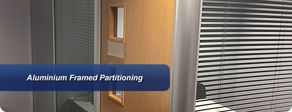 Aluminium Framed Partitioning