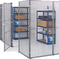 Steel Mesh Partitions by Docklands Systems