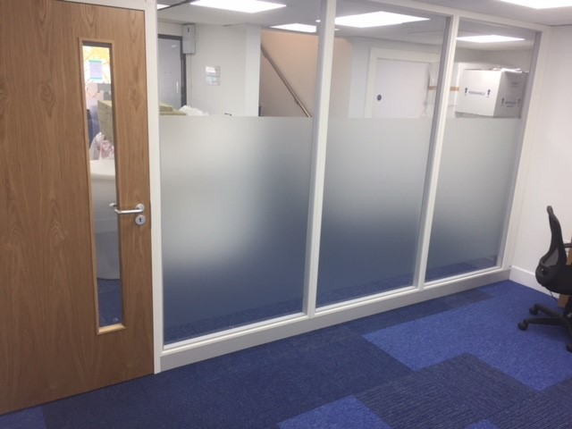 Aluminium Framed Partitioning in Braintree, Essex