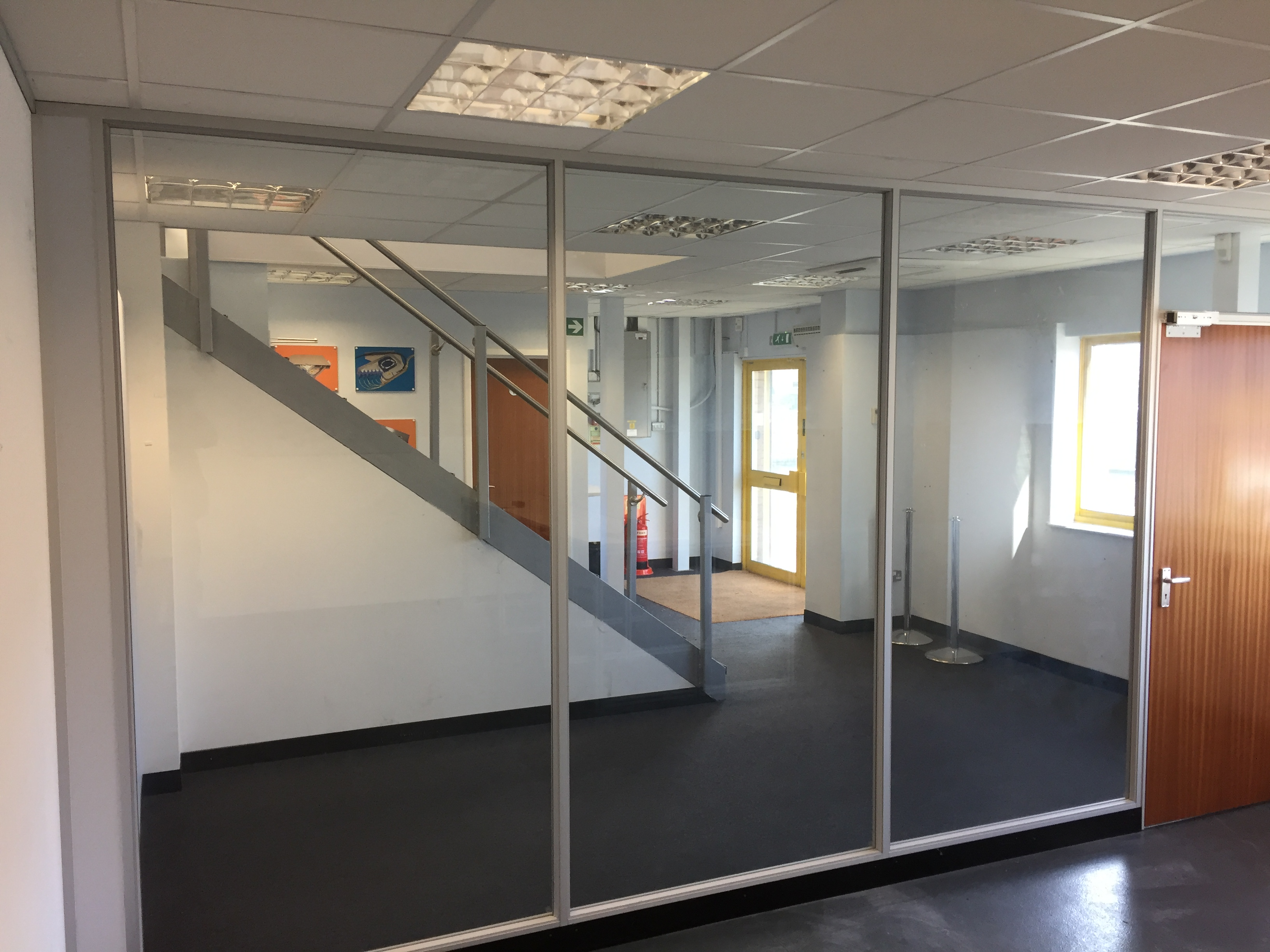 Aluminium Framed Partitioning in Chelmsford, Essex
