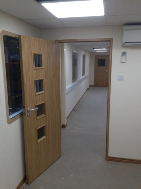 Office Partitioning in Barnstaple, Devon