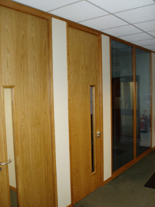Office Partitioning in Crewe, Cheshire
