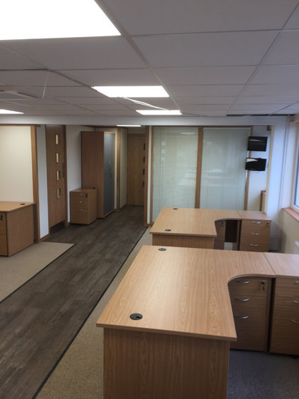 Office Partitioning in Haverhill, Suffolk