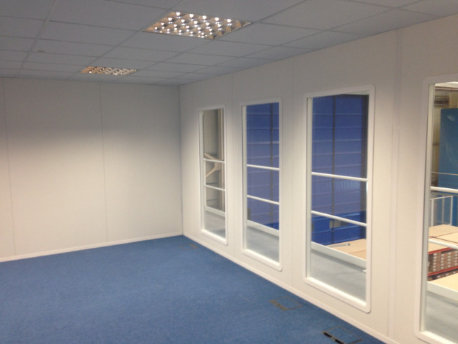 Office partitioning in Leamington Spa, Warwickshire