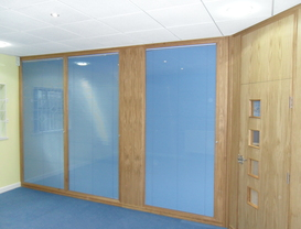 Timber Framed Partitioning in Barnstaple, Devon