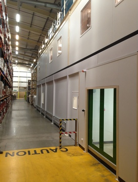 Warehouse & Commercial Partitioning in Barnstaple, Devon