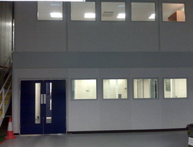 Warehouse & commercial partitioning in Banbury, Oxfordshire