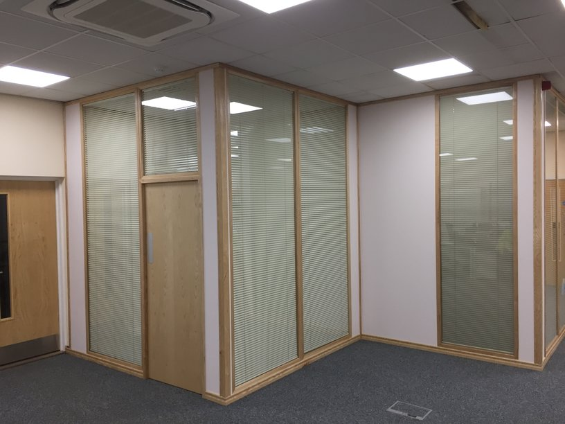 Timber Framed Partitioning